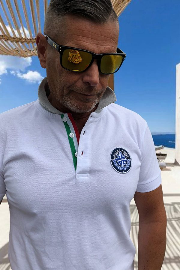MARCO Mascalzone olasz,-galléros FÉRFI POLÓ/SHIRT
