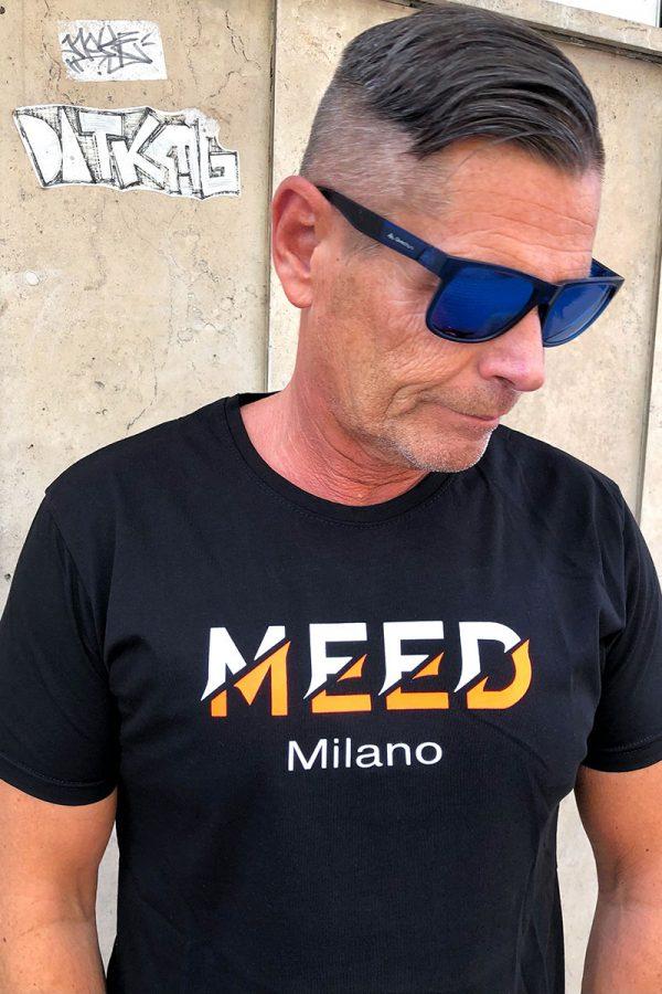 MEED Milano férfi,-pamut T-SHIRT/PÓLÓ